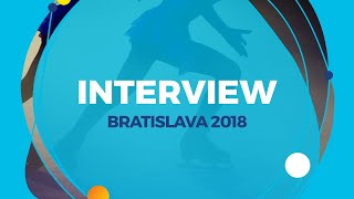 Anna Shcherbakova RUS | Interview | Bratislava 2018