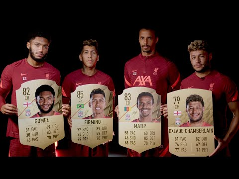 Hilarious FIFA 22 Ratings Reveal |  Ox makes a joke on Matip, Firmino and Gomez