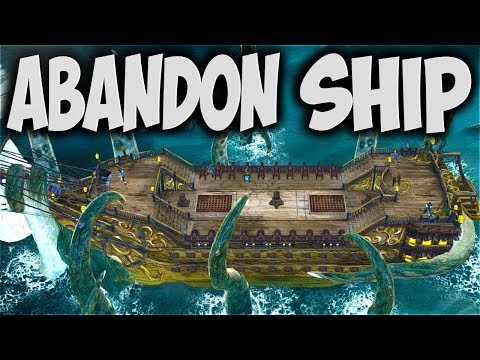 Abandon Ship! - WRECKING Enemy SHIPS in Tactical & SAVAGE Naval COMBAT! - Abandon Ship Gameplay