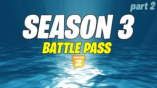 Fortnite Season 3 Chapter 2 Battle Pass / Lobby LEAK