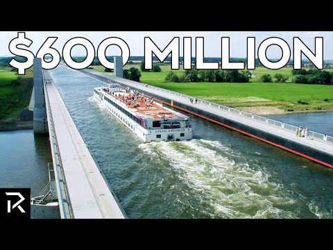 Germany's $600 Million Dollar Water Bridge