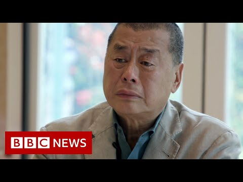 Hong Kong billionaire's last interview as a free man - BBC News