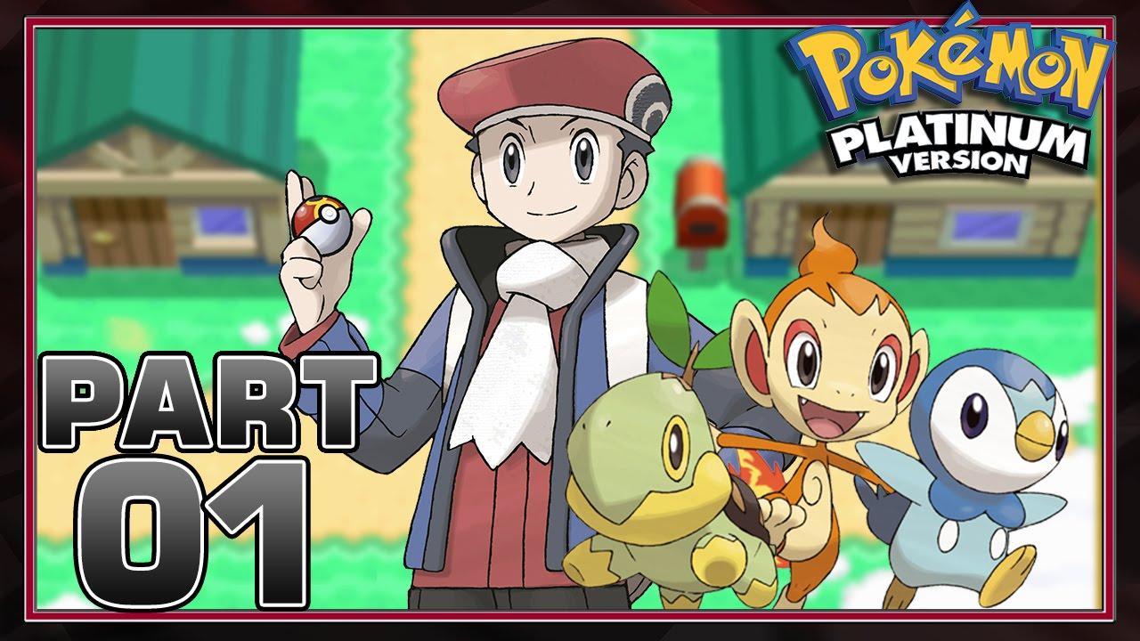 Pokemon Platinum Version - Part 1 - Choosing Our Starter!