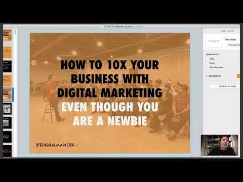 WEBINAR: 10X Business Anda Dengan Digital Marketing - Strategy Laris Jualan Online