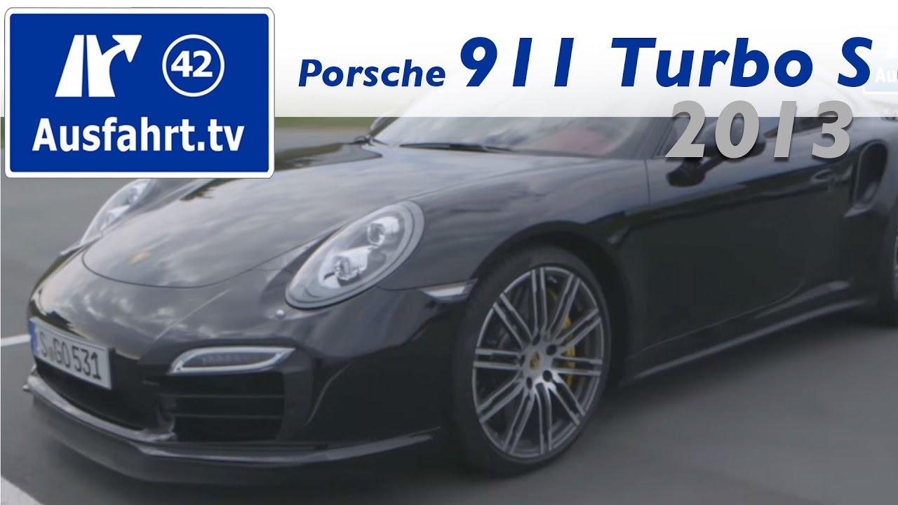 2013 porsche 911 turbo s 991 fahrbericht der probefahrt test erfahrungen