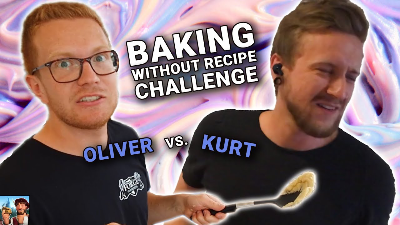 BAKING WITHOUT A RECIPE Challenge! | Oliver vs Kurt | Fall Event 2020 | Forge of Empires