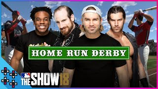 HOME RUN DERBY #1: FANDANGO vs. BREEZE vs. ENGLISH vs. CREED - MLB The Show 18 - Gamer Gauntlet
