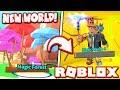 *NEW* MAGIC FOREST WORLD in MINING SIMULATOR UPDATE!! (Roblox)