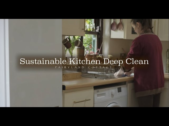 Kitchen Deep Clean - Sustainable and Cleaning Tips
