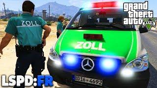 GTA 5 LSPD:FR - ZOLL + BOMBE im KOFFERAUM! - Deutsch - Polizei Mod #34 Grand Theft Auto V