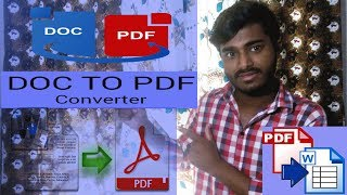 How to Convert A Word Document To PDF For Free (Bangla-2019)
