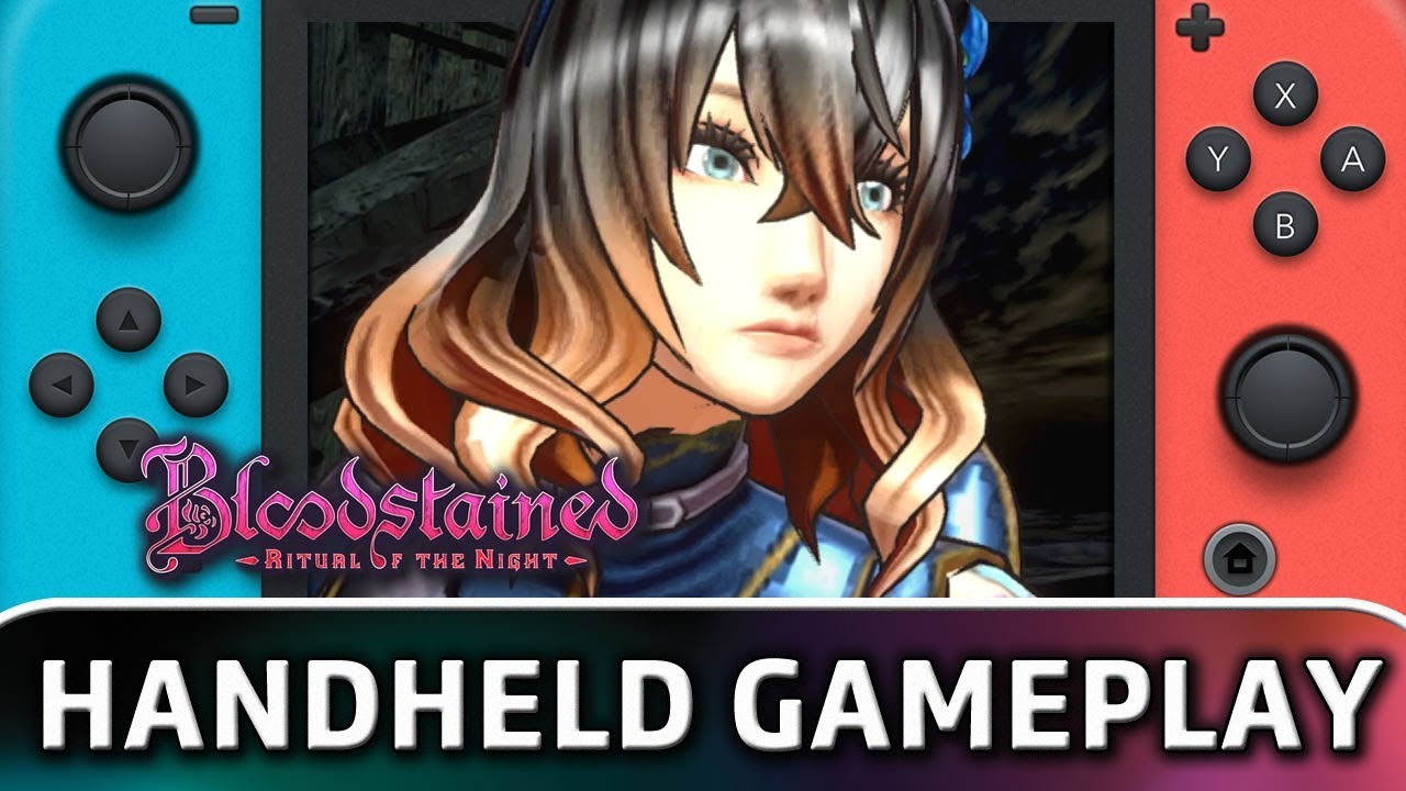 Bloodstained: Ritual of the Night | 10 Minutes in Handheld MODE on Nintendo Switch
