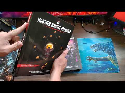 5E Monster Manual Expanded 1 U0026 2 - REVIEW