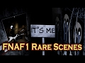 FNAF - ALL RARE SCENES caught on Camera!
