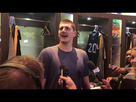 Nikola Jokic Postgame - Charlotte Hornets at Denver Nuggets [January 2019]