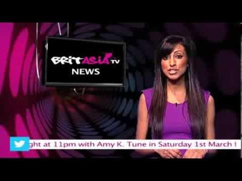 NEWS FLASH BRIT ASIA TV 60 SEC SHOWBIZ NEWS BY SELINA - 27TH FEB 2014