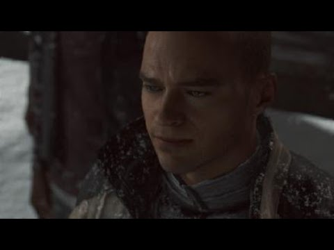 "Detroit: Become Human - Markus Sings ""Hold On Just A Little While Longer"""