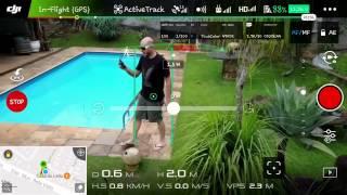 DJI Mavic Pro - Tutorial + Demonstração - Função Active Track - videoaula drone - Brasil