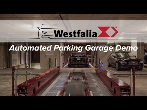 Automated Parking Garage Demo | 500 Walnut, Philadelphia