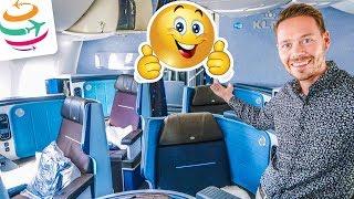 MEGA! KLM Business Class 787-9 Dreamliner 12 Stunden Flug | GlobalTraveler.TV