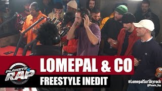 Lomepal - Freestyle inédit avec Prince Waly, Di Meh & Slimka, Laylow, Fixpen Sill et Vladimir Cauche