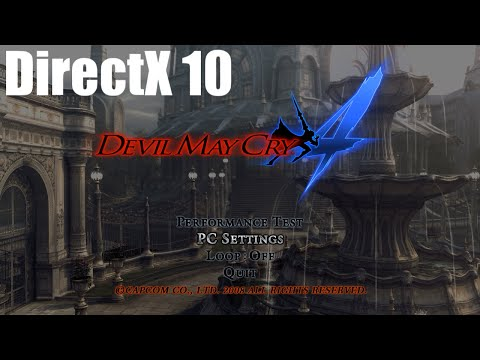 デビル メイ クライ 4 ベンチマーク(Core i7-6700,Intel HD Graphics 530,DirectX 10)