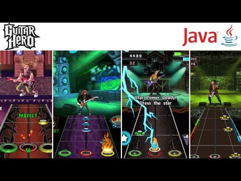 Guitar Hero Series For Java Mobile