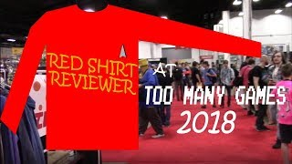 Too Many Games 2018 Highlights | The Redshirt Reviewer