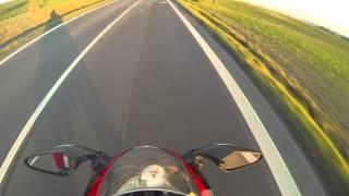 derbi gpr 125 racing autumn ride   gopro hero 3 black edition