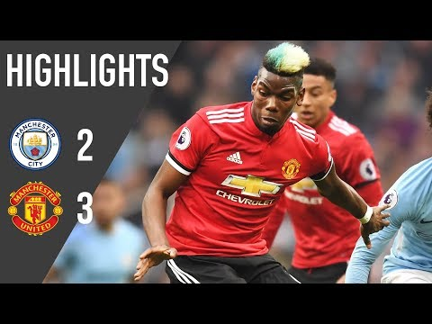 Manchester United 3-2 Manchester City - Premier League Rewind