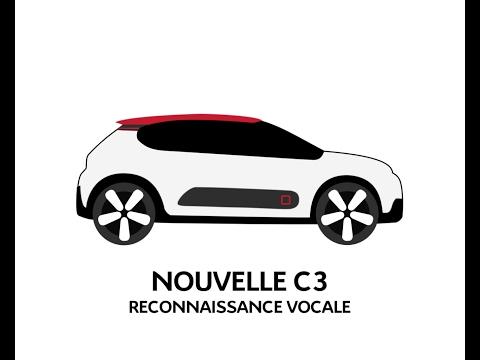 Citroën C3 - Reconnaissance vocale