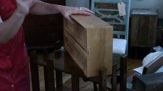 How to Treat Wood Worms in Antique Furniture : Antique Furniture Care