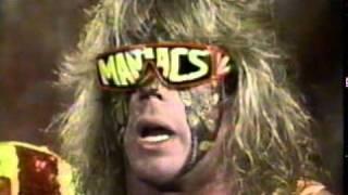 WWF WWE ultimate maniacs warrior macho man randy savage no sleep no food.mpg
