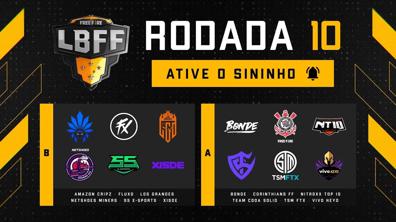 Download LBFF 6 - Rodada 10 - Grupos B e A   Free Fire