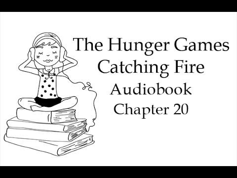Голодные игры. И вспыхнет пламя. Глава 19. Аудиокнига на английском языке.