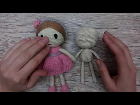 Схема куклы амигуруми крючком лалалупси