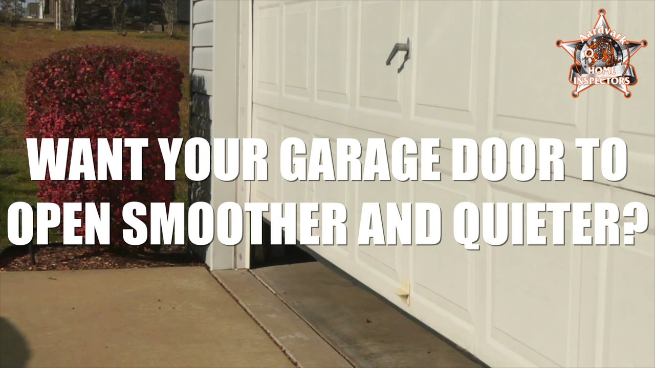 Aardvark Home Inspectors Mishawaka Garage Door Youtube