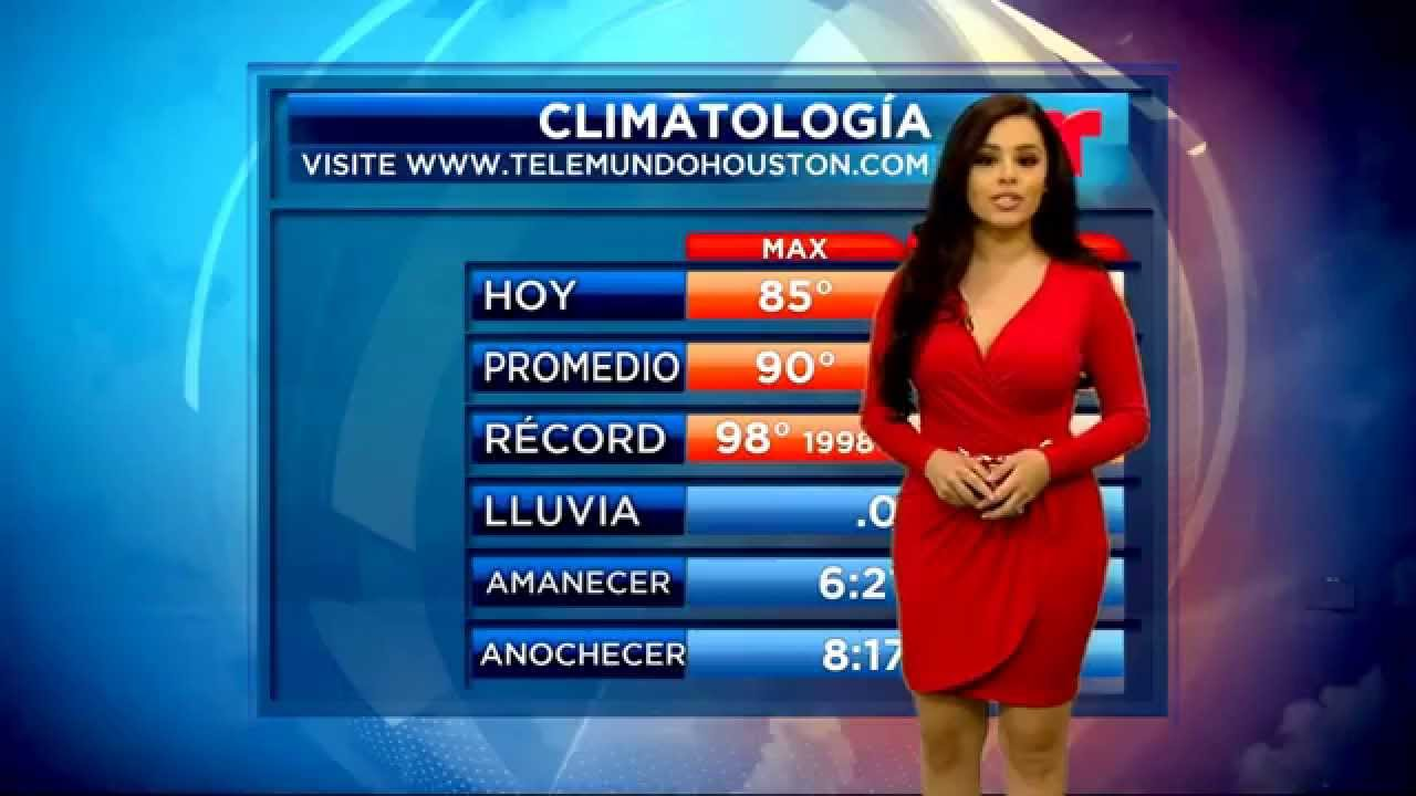Leticia Castro English Weather Demo Youtube