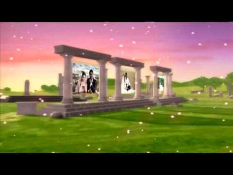 3D wedding album montage