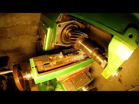 Моя мини мастерская - первая стружка на фрезерном НГФ - 110