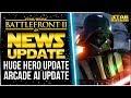 HUGE Hero Changes, Siege Of Kamino, AI Updates | Star Wars Battlefront 2 News Update