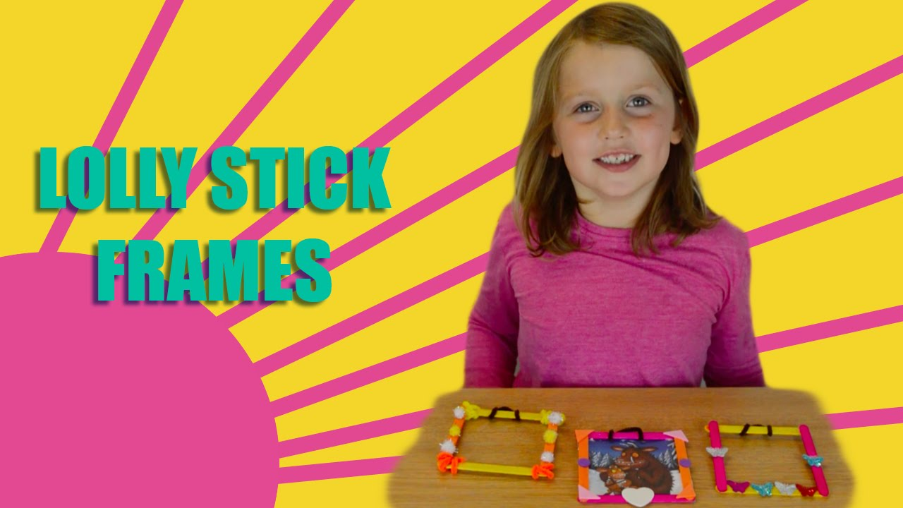 Make Your Own Photo Frames | Kids Arts and Crafts | Amelia\'s Crafty ...