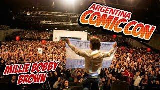 Entrevista a Millie Bobby Brown en la Comic Con Argentina 2017 [Subs en Español]