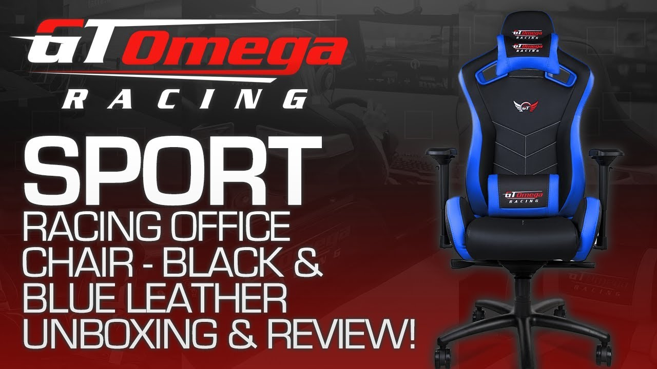 GT Omega Racing SPORT Gaming Office Chair Unboxing, Build U0026 Review!