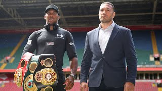 video: Anthony Joshua to fight 'Cobra' Kubrat Pulev at Tottenham Hotspur Stadium in June