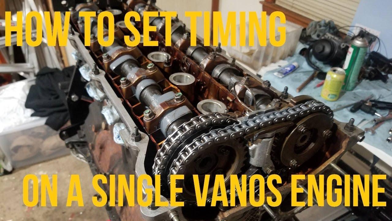 S50 S52 M52 engines: M50TU Single Vanos Single Vanos