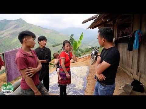 Tin vui đến với vợ chồng Mỷ | Chuẩn bị dự án giúp gia đình em Mỷ vượt qua khó khăn