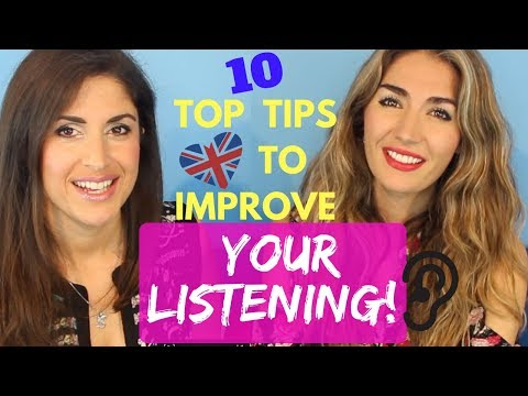 Ten steps to improve your English listening skills and understand English Native speakers better!