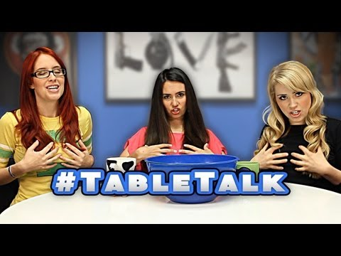 Table Talk: LADY TALK: Blonde, Brunette, or Redhead & Facial Hair On Men!