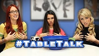 Table Talk: LADY TALK: Blonde, Brunette, or Redhead & Facial Hair On Men!